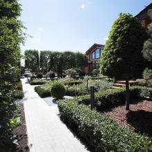Создание садов и парков с 1998 года